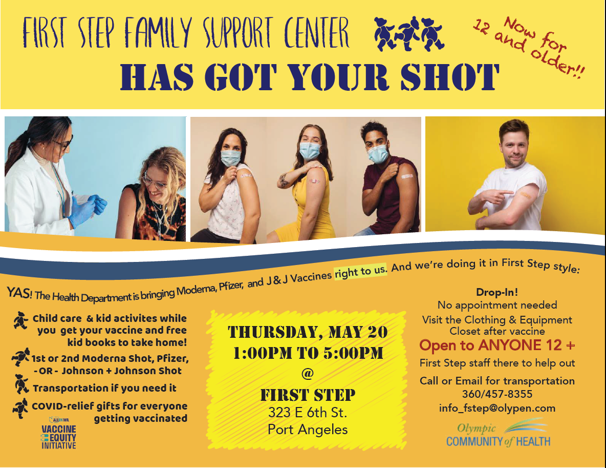 First Step Family Support Center Vaccination Event