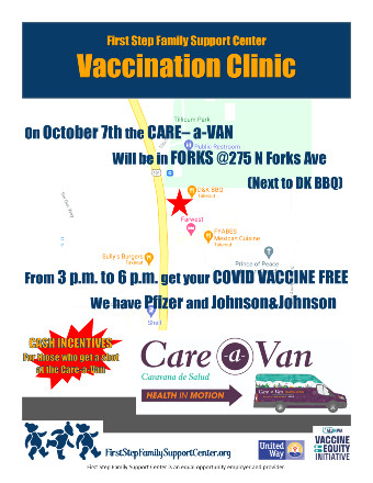 Forks Care-a-Van Vaccine Event 10-07-21